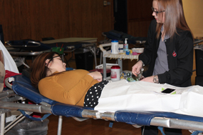 Student council blood drive saves lives