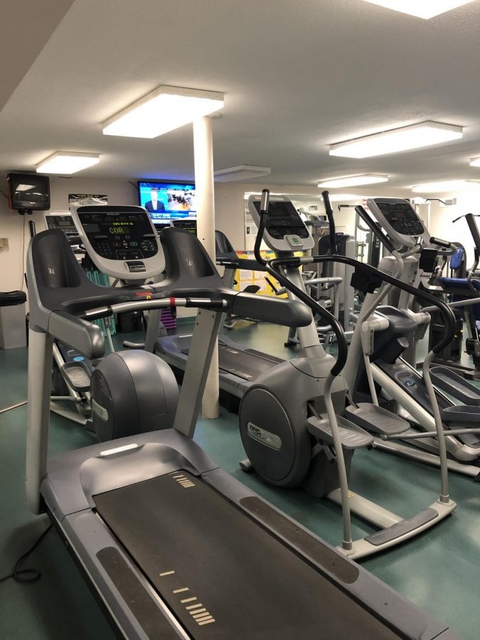 Healthy habits: As January progresses into February, the OCC health center sees fewer people. Many people who set fitness-related New Year's resolutions tend to drop them throughout the year.
