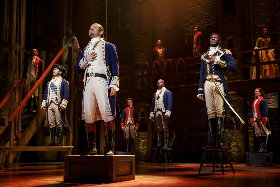 """Perfect Performance: Dayton Live presents """"Hamilton,"""" one of the most favored plays on Broadway, on their 2018 National Tour. """"Something special happens between the person on stage and the person in the audience,"""" Sue Stevens said. Photo contributed by: Joan Marcus."""